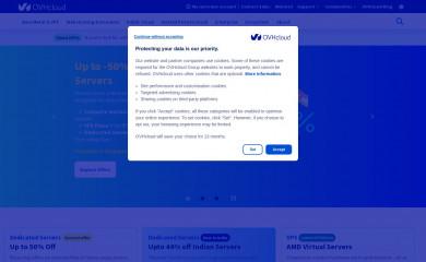 OVHcloud screenshot