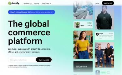 Shopify, Inc. screenshot